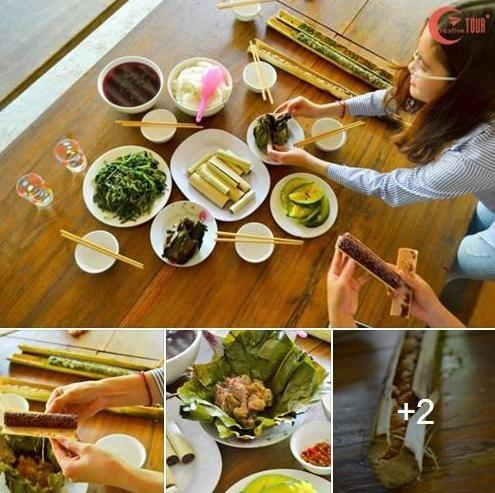 Và bữa ăn hấp dẫn của người dân tộc Tà Ôi ở Huế