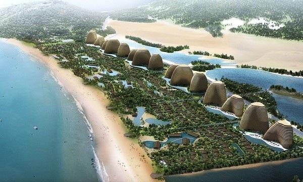 Phối cảnh dự án Mũi Dinh Ecopark.