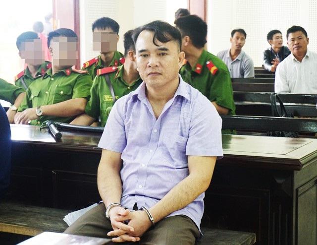 Nguyên thiếu tá công an Nguyễn Đại Hiền được giảm 1 năm tù so với bản án sơ thẩm.