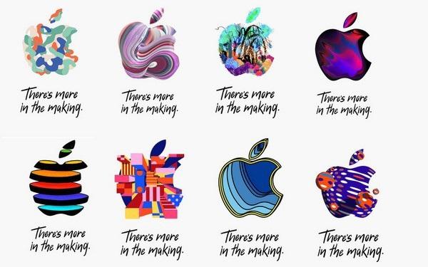 """Thư mời tham dự sự kiện đặc biệt của Apple với logo của """"quả táo"""" được biến hóa đầy màu sắc"""