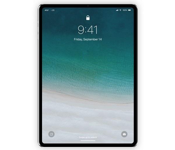 iPad Pro thế hệ mới sẽ có thiết kế viền màn hình siêu mỏng và loại bỏ nút Home vật lý giống như trên iPhone?