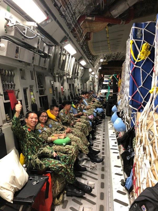 63 quân nhân là lực lượng đầu tiên của Việt Nam tham gia gìn giữ hòa bình Liên hợp quốc