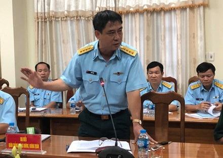 Đại diện QCPKKQ cũng nhận định những di vật tìm thấy trùng khớp với chủng loại máy bay MIC 21 gặp nạn.
