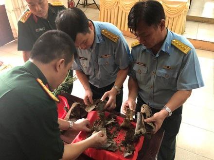 Những di vật được tìm thấy tại dãy núi Tam Đảo trùng khớp với thông số của máy bay MIC 21 gặp nạn cách đây 47 năm.