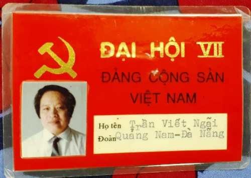 Năm 1991, ông Ngãi tham dự Đại hội Đảng toàn quốc cũng là Đại hội ông Đỗ Mười được bầu làm Tổng Bí thư (Ảnh: TVN)
