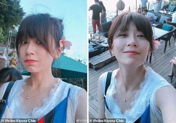 Giả Tịnh Văn chia sẻ hai bức ảnh hồi tháng 6 khi cùng gia đình đi du lịch.