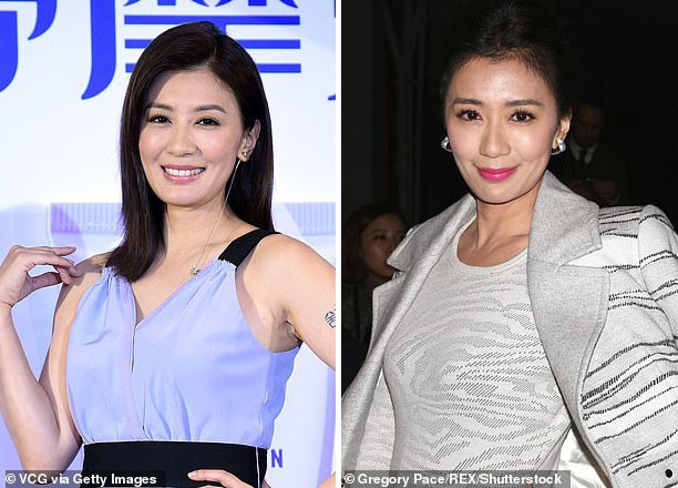 Giả Tịnh Văn vẫn đẹp ở tuổi 44