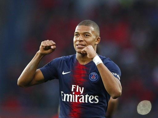 Mbappe tạm vươn lên dẫn đầu danh sách vua phá lưới ở Ligue 1