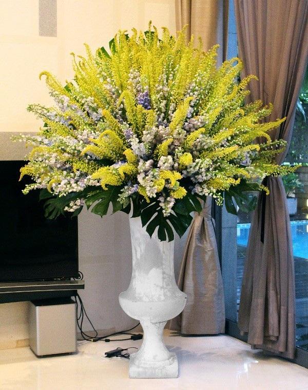 """Một trong những hoa """"khủng"""" nhất trong dịp 20/10 năm nay tại TP. HCM trị giá 85 triệu đồng."""