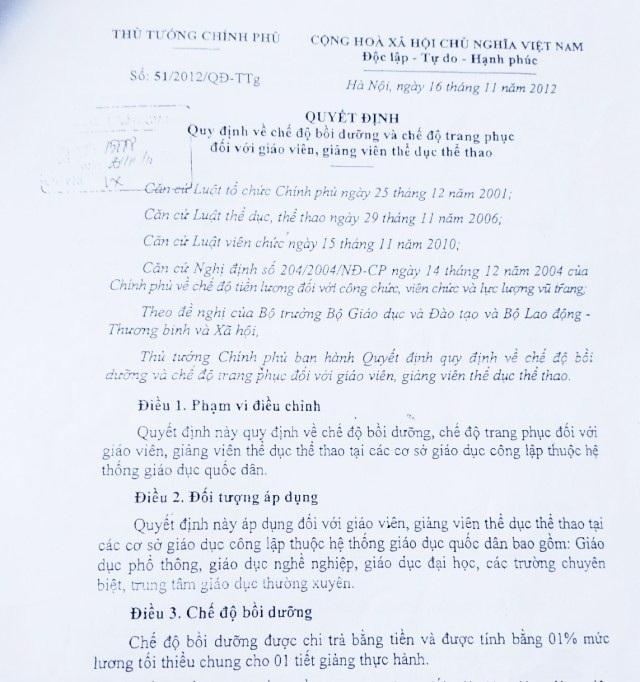 """Bạc Liêu: Yêu cầu Phòng Giáo dục báo cáo vụ hiệu trưởng bị """"tố"""" làm trái quy định nhà nước - 1"""