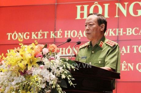 Thượng tướng Lê Quy Vương, Thứ trưởng Bộ Công an làm Chủ nhiệm Đề án 2 tấn công các loại tội phạm có tổ chức.