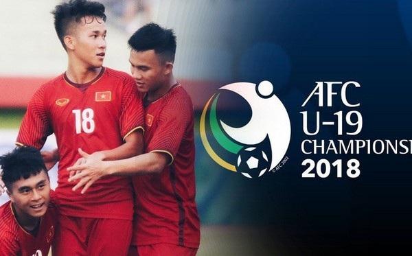 Các cầu thủ U19 Việt Nam đang tham dự vòng chung kết U19 châu Á diễn ra tại Indonesia