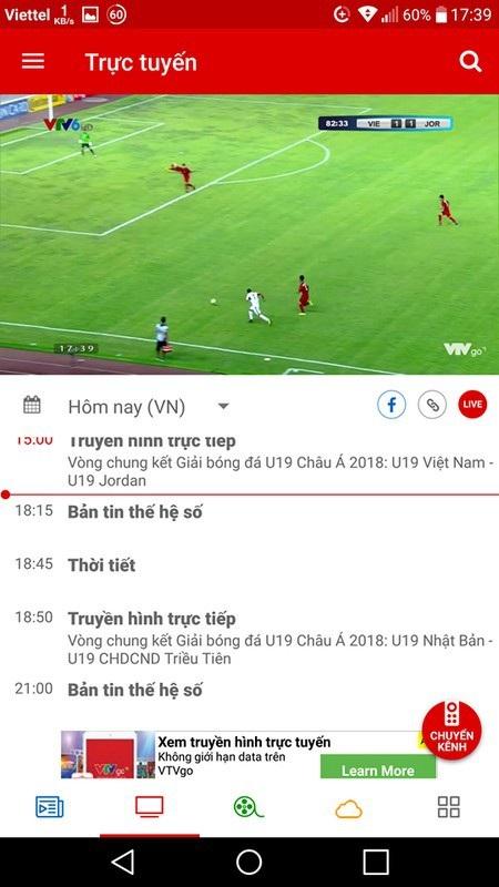 Xem trực tiếp U19 Việt Nam thi đấu tại giải U19 châu Á trên smartphone và máy tính - 2