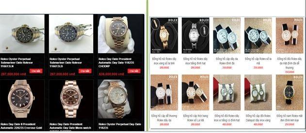 Hàng nhái có vẻ ngoài y chang được rao bán với giá vài trăm ngàn đồng, chỉ bằng 1/1.000 giá trị hàng thật (ảnh tư liệu của Cục Thương mại điện tử và Kinh tế số)