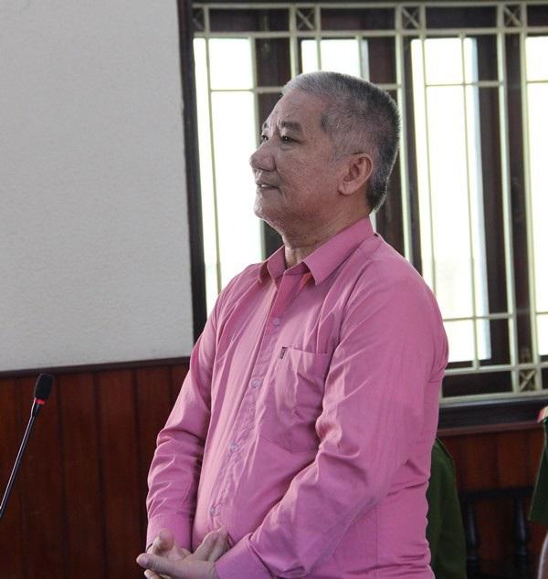 Bị cáo Lê Văn Thiệt - nguyên giám đốc một công ty bị tuyên án cao nhất 12 năm tù.