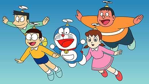 """Học tiếng Nhật qua """"siêu phẩm mọi thời đại"""" Doraemon"""