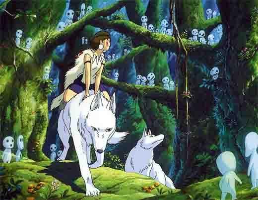 Học tiếng Nhật thông qua chuyến phiêu lưu của nàng Công chúa sói Mononoke