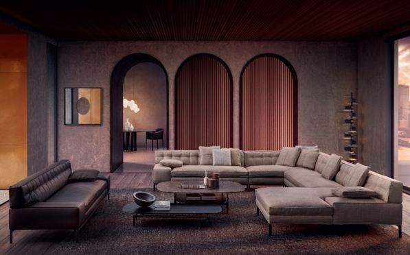 Bộ sưu tập sofa Volage EX-S là sự cải tiến từ mẫu ghế sofa kinh điển với kỹ thuật capitonné – khâu chần mới, thay thế nút truyền thống bằng thiết kế khâu chần đơn giản và tinh tế.