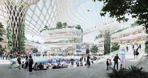 Dự án Trung tâm thương mại Westfield trong tương lai: Điểm đến năm 2028. Photo: UNIFORM.NET