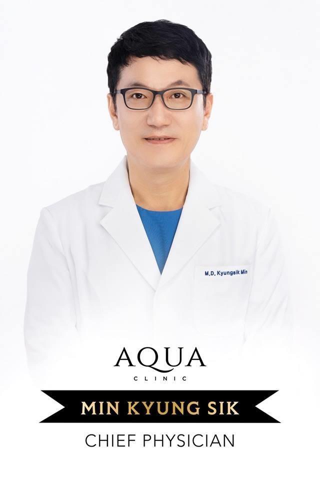 Bác sĩ Min Kyung Sik - chuyên gia hàng đầu về da của Aqua Clinic - 1