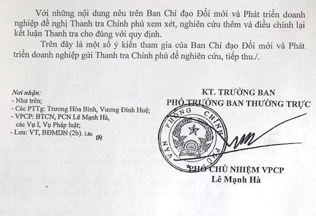 Vụ cổ phần hoá tai tiếng tại HACINCO: Ngóng đợi kết luận từ Thanh tra Chính phủ! - Ảnh 3.