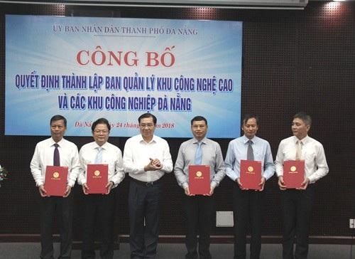 Phó Chủ tịch TP Đà Nẵng nhận chức trưởng ban mới thành lập - Ảnh 1.