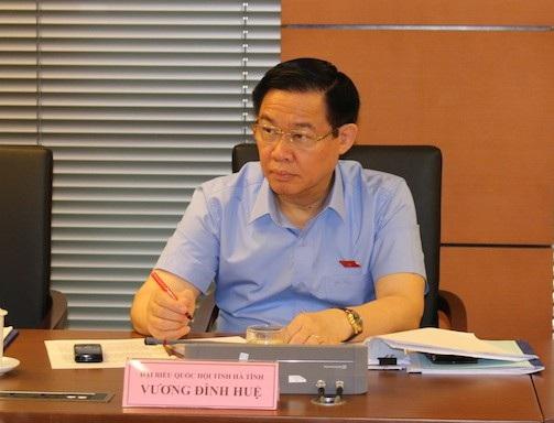 Phó Thủ tướng Vương Đình Huệ. p.p1 {margin: 0.0px 0.0px 13.0px 0.0px; font: 13.0px Helvetica}