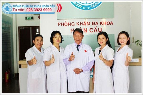 Đội ngũ bác sĩ phụ trách chuyên môn tại Phòng Khám Đa Khoa Hoàn Cầu