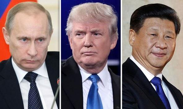 """Rút Mỹ khỏi hiệp ước hạt nhân với Nga, ông Trump """"nắn gân"""" Trung Quốc - Ảnh 1."""