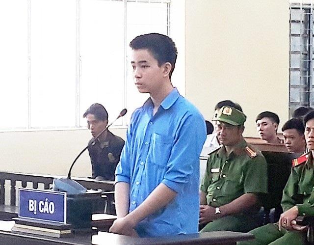 Bị cáo Nguyễn Văn Điền tại phiên tòa. (Ảnh: CTV)