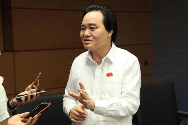 Bộ trưởng Phùng Xuân Nhạ: Kết quả lấy phiếu tín nhiệm là động lực cố gắng - Ảnh 1.