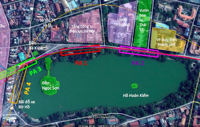Chủ tịch Hà Nội: Ga C9 không xâm phạm di tích Hồ Gươm - Ảnh 1.