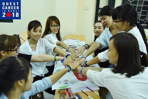 Sự kiện Quest career được sự hỗ trợ của Đại sứ quán Nhật Bản tại Việt Nam