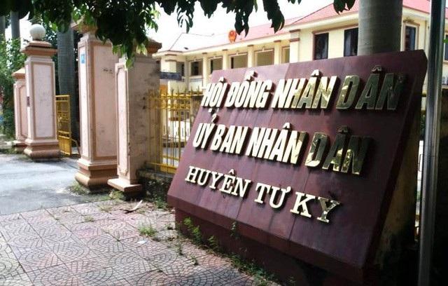 Trụ sở UBND huyện Tứ Kỳ, Hải Dương (Ảnh: GĐXH).
