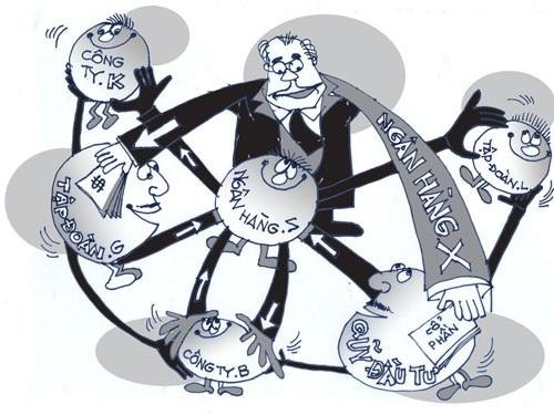 Ngành ngân hàng đã kiểm soát được nhóm cổ đông lớn có tính chất thao túng, chi phối (ảnh minh họa).