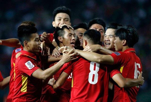Đội tuyển Việt Nam vẫn dẫn đầu khu vực Đông Nam Á