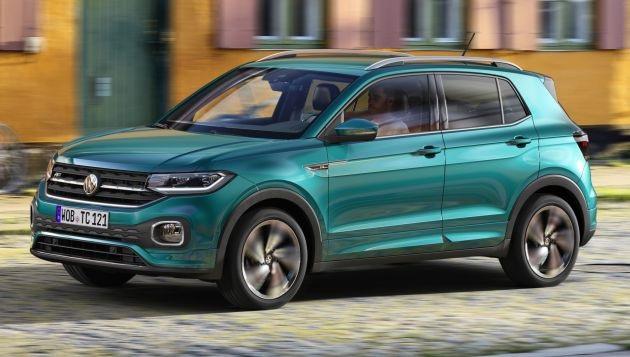 Volkswagen T-Cross - Tí hon trên thị trường SUV - Ảnh 1.