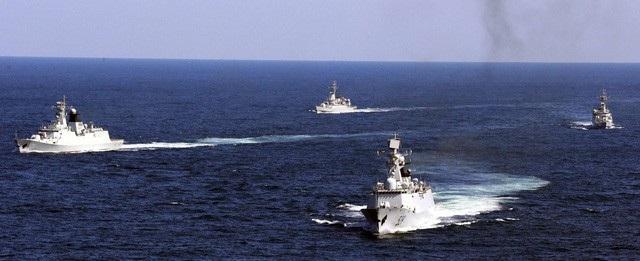Tình trạng quân sự hóa đang gia tăng trên Biển Đông (ảnh: Reuters)