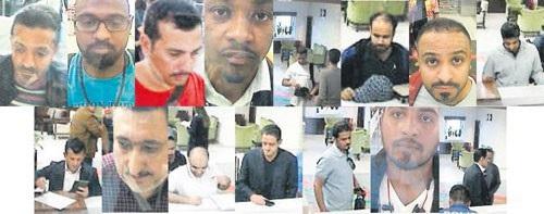 15 thành viên thuộc đội sát thủ ra tay giết hại nhà báo Jamal Khashoggi đã bị bắt giữ Ảnh: SABAH