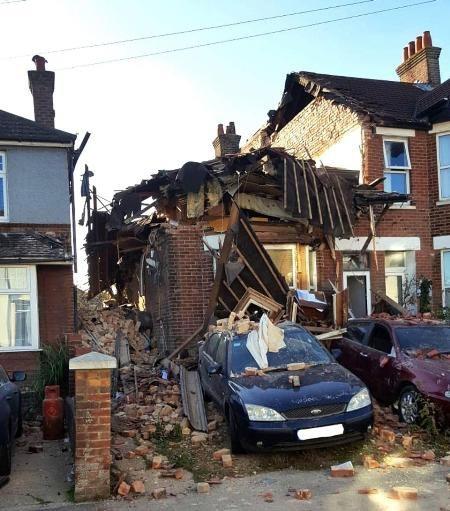 Ngôi nhà ở Poole, Dorse đã trở thành đống đổ nát sau vụ ly hôn lộn xộn