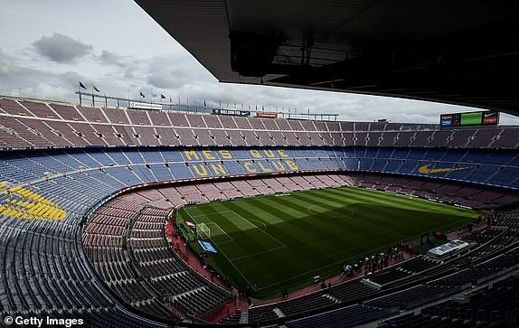 Sân Nou Camp đã sẵn sàng cho trận Siêu kinh điển thứ 178 trong lịch sử