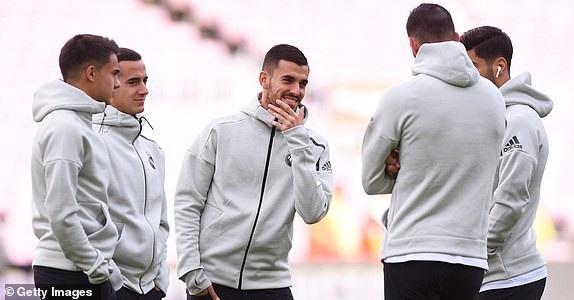 Cầu thủ Real Madrid thoải mái tâm lý trước trận đấu