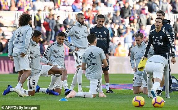 Real Madrid cần chiến thắng để cứu vãn tình hình