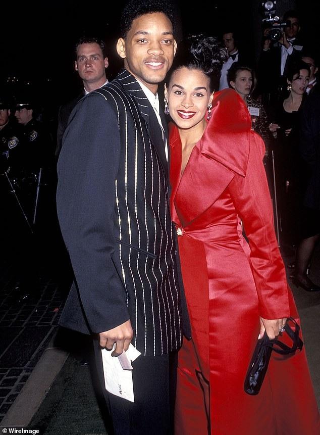 Will Smith bên người vợ đầu