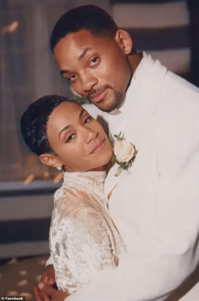 Ảnh cưới của Will Smith và Jada Pinkett Smith