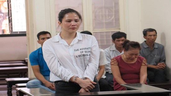 Bị cáo Hồng tại phiên tòa xét xử