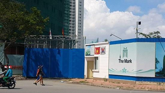 Dự án The Mark, quận 7, TPHCM (Ảnh: Công lý)