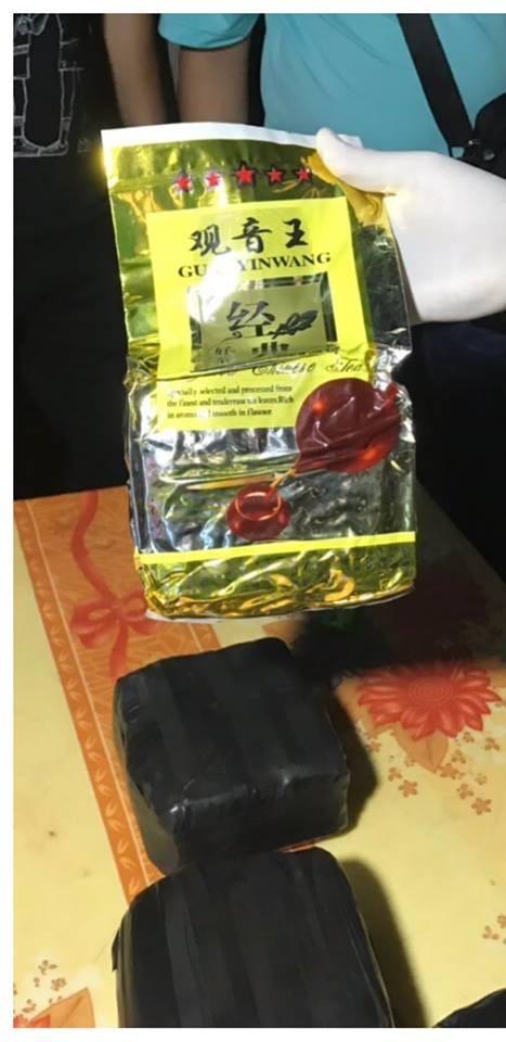 Tang vật gần 3kg ma túy đá lực lượng phòng chống ma túy thu giữ (ảnh PC04 cung cấp)