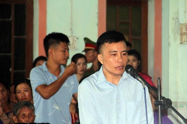 Bị cáo Quân tại phiên tòa sơ thẩm tháng 7/2018