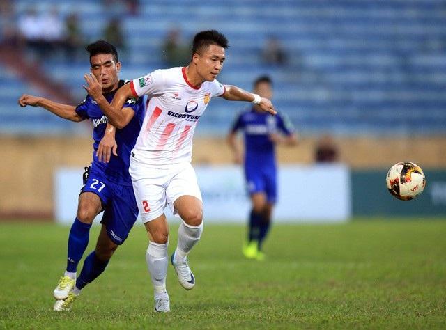 Trận đấu ở vòng 26 sẽ là trận đấu mang ý nghĩa quyết định với cả Nam Định lẫn Cần Thơ (ảnh: Gia Hưng)